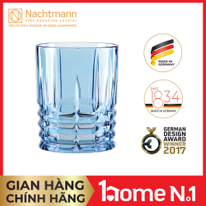 Ly pha lê Nachtmann Highland màu xanh biển